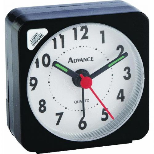 LaCrosse Technology Quartz Analog Travel Alarm Clock